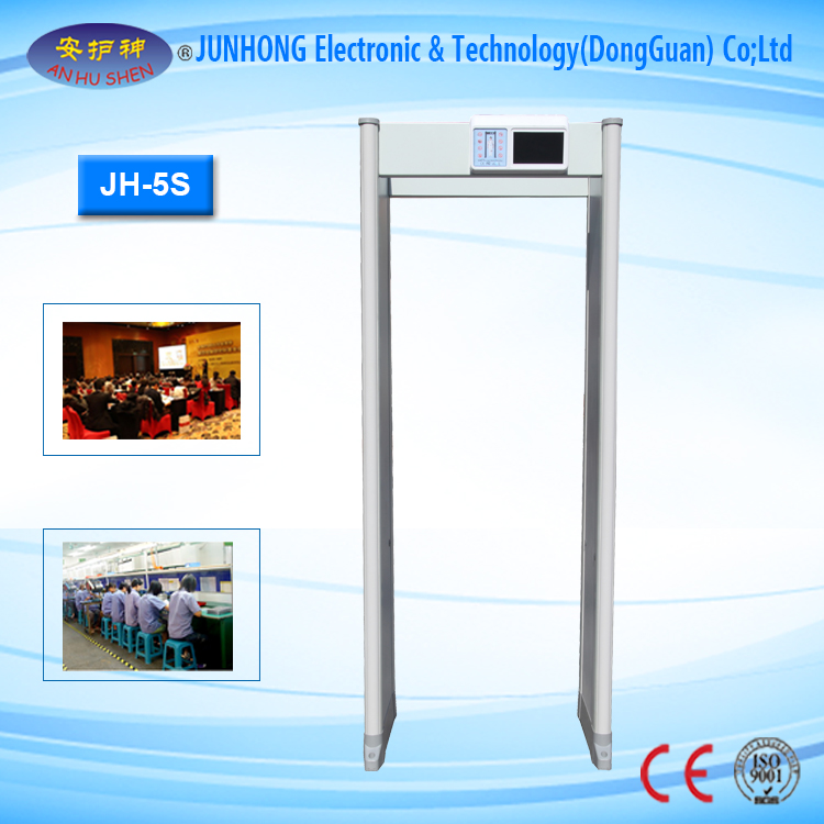 Walkthrough Metal Detector with Led Lights