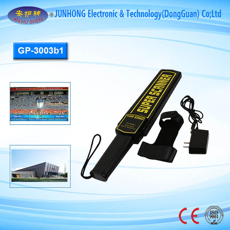 Wide Detection Range Handheld Metal Detector