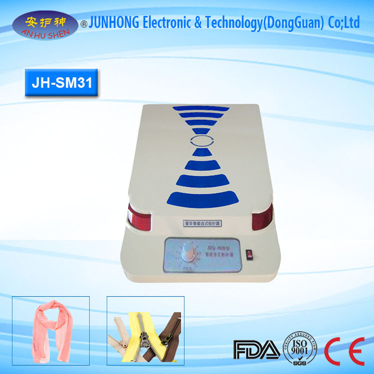 Table needle detector for factories