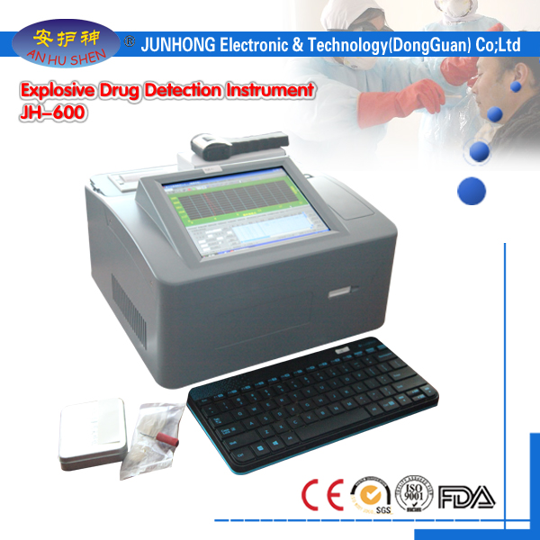 High Quality And Sensitivity Desktop Drugs Detector